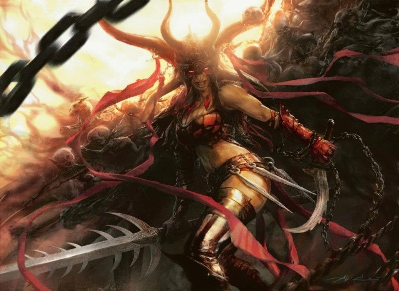 Exava Rakdos Blood Witch